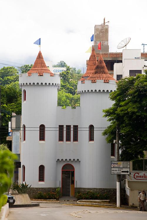 Castelo_ES, Brasil...Castelinho, sede da biblioteca publica da cidade de Castelo...Castelinho is the public library in Castelo...Foto: LEO DRUMOND / NITRO