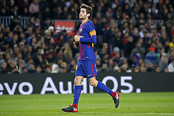 November 29, 2017 - Barcelona, Catalonia, Spain - Sergi Roberto during the Copa del Rey match between FC Barcelona v Real Murcia CF,i n Barcelona, on November 29, 2017. (Credit Image: © Joan Valls/NurPhoto via ZUMA Press)