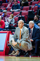 NORMAL, IL - November 30:  Kevin McMillan during a college women's basketball game between the ISU Redbirds and the Skyhawks of UT-Martin November 30 2019 at Redbird Arena in Normal, IL. (Photo by Alan Look)