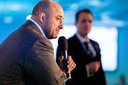 David Flatman talks at the annual Exeter Chiefs Foundation Christmas Dinner at Sandy Park - Ryan Hiscott/JMP - 07/12/2018 - RUGBY - Sandy Park - Exeter, England - Exeter Chiefs Foundation Christmas Dinner with David Flatman