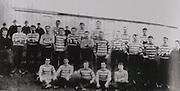 Limerick (Kilfinane) - All Ireland Hurling Champions 1897. Back Row: P Mulcahy, J Hynes, M Downes, J Hanley, M Finn, J Flood, P O'Brien, J Cantrell. Front Row: P Flynn, J Reidy, T Casey, P Buskin, M Flynn, T Brazzil, D Grimes (capt), J Finn, F Dunworth.