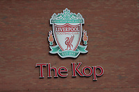 Football - 2018 / 2019 Premier League - Liverpool vs. Tottenham Hotspur<br /> <br /> General viw of the Kop stand, at Anfield.<br /> <br /> COLORSPORT/ALAN MARTIN