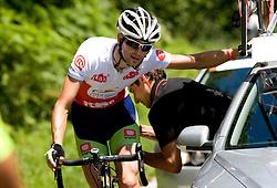 Blaz Furdi (SLO) of Sava at 2nd stage of Tour de Slovenie 2009 from Kamnik to Ljubljana, 146 km, on June 19 2009, Slovenia. (Photo by Vid Ponikvar / Sportida)