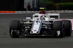 June 23, 2018 - Le Castellet, Var, France - Sauber Driver CHARLES LECLERC (FRA) in action during the Formula one French Grand Prix at the Paul Ricard circuit at Le Castellet - France. (Credit Image: © Pierre Stevenin via ZUMA Wire)