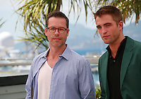 Guy Pearce and Robert Pattinson at the photo call for the film The Rover at the 67th Cannes Film Festival, Sunday 18th May 2014, Cannes, France.