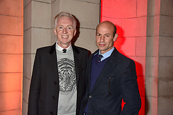 Philip Treacy and Stefan Bartlett at the Mary Quant VIP Preview at The Victoria & Albert Museum, London, England. 03 April 2019. <br /> <br /> ***For fees please contact us prior to publication***