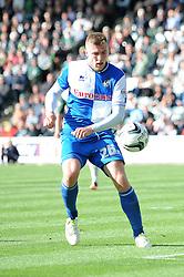 Bristol Rovers' Ryan Brunt  - Photo mandatory by-line: Dougie Allward/JMP - Tel: Mobile: 07966 386802 07/09/2013 - SPORT - FOOTBALL -  Home Park - Plymouth - Plymouth Argyle V Bristol Rovers - Sky Bet League Two