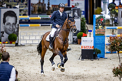 GREVE Willem (NED), Highway M TN<br /> Youngster Tour 2. Qualifikation<br /> Preis der Kanzlei Dr. Winzer und Kollegen<br /> Int. jumping competition against the clock (1.35-1,40m) - CSIYH1*<br /> Braunschweig - Classico 2020<br /> 07. März 2020<br /> © www.sportfotos-lafrentz.de/Stefan Lafrentz