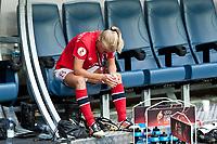 Fotball<br /> EM-finalen kvinner<br /> 28.07.2013<br /> Norge v Tyskland<br /> Foto: imago/Digitalsport<br /> NORWAY ONLY<br /> <br /> Solveig Gulbrandsen sad and disappointed and crying