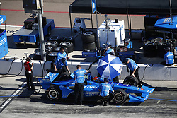 February 9, 2018 - Avondale, Arizona, United States of America - February 09, 2018 - Avondale, Arizona, USA: The crew of Ed Jones (10) works on the car during the Prix View at ISM Raceway in Avondale, Arizona. (Credit Image: © Justin R. Noe Asp Inc/ASP via ZUMA Wire)