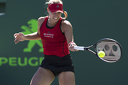 March 22, 2018 - Key Biscayne, Florida, United States Of America - KEY BISCAYNE, FL -MARCH 22: Angelique Kerber on day 10 of the Miami Open at Crandon Park Tennis Center on March 22, 2018 in Key Biscayne, Florida. ...People:  Angelique Kerber. (Credit Image: © SMG via ZUMA Wire)
