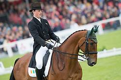 Watson Sam, (IRL), Horseware Bushman<br /> Dressage <br /> Mitsubishi Motors Badminton Horse Trials - Badminton 2015<br /> © Hippo Foto - Jon Stroud<br /> 08/05/15