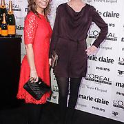 NLD/Amsterdam/20150119 - De Marie Claire Prix de la Mode awards, Susan Smit en Pauline de Wilde