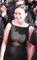 Do-yeon Jeon at the Palme d'Or  Closing Awards Ceremony red carpet at the 67th Cannes Film Festival France. Saturday 24th May 2014 in Cannes Film Festival, France.