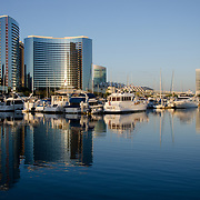 Embarcadero Marina park north. San Diego, CA.