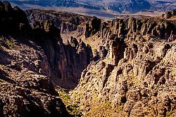 Mountain view from the Tizi N'Tazezert trail (piste) in southern Morocco<br /> <br /> (c) Andrew Wilson   Edinburgh Elite media