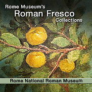 Roman Fresco Painted Interior Decoration Wall Art - National Roman Museum Rome - Pictures & Image