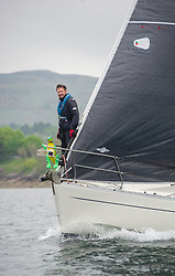 Day 2 Sailing, SCOTLAND<br /> <br /> Class 6, Salamander XXII, Moody 336, 3361C<br /> <br /> The Scottish Series, hosted by the Clyde Cruising Club is an annual series of races for sailing yachts held each spring. Normally held in Loch Fyne the event moved to three Clyde locations due to current restrictions. <br /> <br /> Light winds did not deter the racing taking place at East Patch, Inverkip and off Largs over the bank holiday weekend 28-30 May. <br /> <br /> Image Credit : Marc Turner / CCC