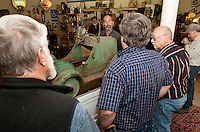 Laconia Historical Society's Appraisal Night at Laconia Antiques Center March 27, 2012.