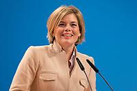 09 DEC 2014, KOELN/GERMANY:<br /> Julia Kloeckner, CDU, Landesvorsitzende und Fraktionsvorsitzende Rheinland-Pfalz, haelt eine Rede, CDU Bundesparteitag, Messe Koeln<br /> IMAGE: 20141209-01-105<br /> KEYWORDS: Party Congress, Julia Klöckner