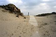 Walkway to the beach, Ireland