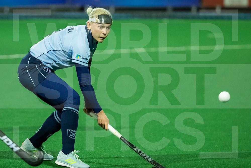 Laren, Hoofdklasse Hockey Dames, Seizoen 2020-2021, 15-04-2021, Laren - Kampong 2-1, Katerina Lacina (Laren)<br /><br /> COPYRIGHT WORLDSPORTPICS WILLEM VERNES