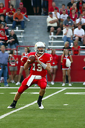 10 September 2011: Matt Brown during an NCAA football game between the Morehead State Eagles and the Illinois State Redbirds at Hancock Stadium in Normal Illinois.