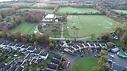 Aerial Photo Shankill Beach, Shanganagh, Cemetery, FC, Cuala, GAA, DLRC Cricket Club, M11, N11, Bray, Castle, Bray, Co Wicklow,