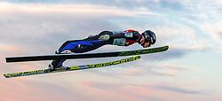 30.09.2016, Energie AG Skisprung Arena, Hinzenbach, AUT, FIS Ski Sprung, Sommer Grand Prix, Hinzenbach, im Bild Markus Schiffner (AUT) // Markus Schiffner of Austria during FIS Ski Jumping Summer Grand Prix at the Energie AG Skisprung Arena, Hinzenbach, Austria on 2016/09/30. EXPA Pictures © 2016, PhotoCredit: EXPA/ JFK
