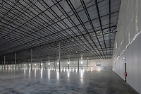 Interior image of Aberdeen MD warehouse by Jeffrey Sauers of CPI Productions