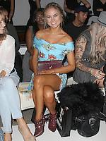 Kimberley Garner, London Fashion Week SS17 - Rocky Star, Freemason's Hall, London UK, 16 September 2016, Photo by Brett D. Cove