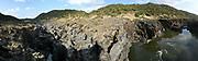 """Pulo do Lobo is een waterval 17 km ten noorden van Mértola, in de regio Alentejo in Portugal. Het is de hoogste waterval van Zuid-Portugal. De naam betekent """"wolfssprong"""" in het Engels; er werd gezegd dat alleen een dappere man of een wild dier dat achtervolgd werd, over de kloof kon springen die door de waterval was gecreëerd.<br /> <br /> Pulo do Lobo is a waterfall 17 km north of Mértola, in the Lower Alentejo region of Portugal. It is the highest waterfall in Southern Portugal. Its name means """"wolf's leap"""" in English; it was said that only a brave man or a wild animal when chased could leap over the gorge that was created by the waterfall."""