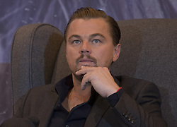 October 11, 2017 - Mexico City, Mexico, Mexico - Leonardo DiCaprio joined others in denouncing the actions of H. Weinstein, who stands accused of numerous incidents of sexual harassment. FILE PHOTO:  Leonardo Di Caprio attends a press conference in Mexico City, on January 26, 2016 to promote the film The Revenant. ANTONIO NAVA/PI (Credit Image: © Prensa Internacional via ZUMA Wire)