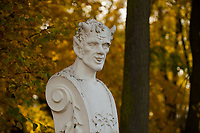 09.10.2014 Bialystok N/z jesien w Parku Branickich fot Michal Kosc / AGENCJA WSCHOD
