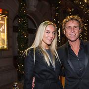 NLD/Amsterdam/20131219 - Premiere Kerstcircus 2013 Carre, Michael Boogerd en partner Darya Nucci