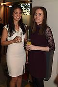 EDWINA STEWART; LISA BOYLE, The Arthur Cox Irish Fashion Showcase 2015,  Irish based designers chosen to be part of this year's Arthur Cox Irish Fashion Showcases The Mall Galleries, London. 13 May 2015.