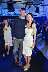 ALEX JAMES and YASMIN MILLS at the Maserati Levante VIP Launch party held at the Royal Horticultural Halls, Vincent Square, London on 26th May 2016.