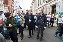 © Licensed to London News Pictures. 22/04/2017. London, UK. Doctor Who actor PETER CAPALDI with scientists take part in the March For Science demonstration to raise awareness restoring science to what is considered to be its rightful place. Photo credit: Ray Tang/LNP