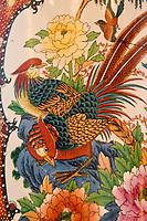 Golden pheasant in art, Dehong Prefecture, Yunnan Province, China