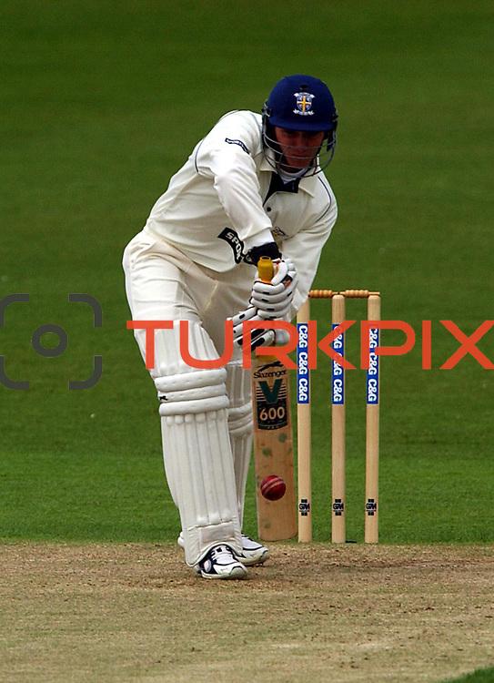 Durham's G. J Pratt in action batting