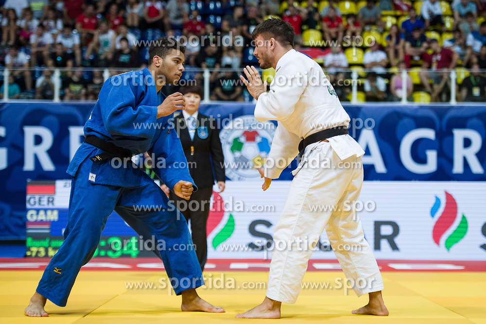 ZINGG Anthony of Germany competes in the elimination round on July 27, 2019 at the IJF World Tour, Zagreb Grand Prix 2019, in Dom Sportova, Zagreb, Croatia. Photo by SPS / Sportida