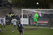 Dulwich Hamlet FC on the attack against Chippenham Town in the FA Trophy third qualifying round at Champion Hill on the 23rd November 2019 in South London in the United Kingdom.
