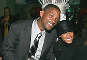 "**EXCLUSIVE**.Will Smith & Jada Pinkett Smith.Will Smith's best friend and confidant, Charles ""Charlie Mac"" Alston 40th Birthday Party.PM Lounge.New York City, NY, United States .Sunday, December 18, 2005 .Photo By Celebrityvibe.com/Photovibe.com.To license this image please call (212) 410 5354; or.Email: sales@celebrityvibe.com ;.Website: www.celebrityvibe.com ....."