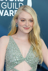 Dakota Fanning at the 26th Annual Screen Actors Guild Awards held at the Shrine Auditorium in Los Angeles, USA on January 19, 2020.