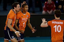 01-06-2014 NED: WLV Nederland - Zuid Korea, Eindhoven<br /> Thomas Koelewijn, Nimir Abdelaziz