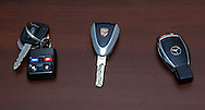 2005 Ford GT key.2007 Porsche 997 GT3 key.2008 Mercedes Benz AMG CLK 63 Black Series key.Corporate Drive Day with Octane Events & The Supercar Club.Mornington Pennisula, Victoria .6th-7th of August 2009 .(C) Joel Strickland Photographics.