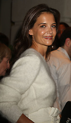 September 8, 2016 - New York, New York, U.S. - Actress KATIE HOLMES attends the Avra Madison Grand Opening Party held on the Upper East Side. (Credit Image: © Nancy Kaszerman via ZUMA Wire)