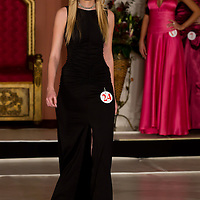Anita Klein participates the Miss Hungary beauty contest held in Budapest, Hungary on December 29, 2011. ATTILA VOLGYI