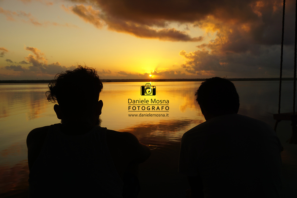Viaggio in Messico, Laguna Del Bacalar 6 gennaio 2017 © foto Daniele Mosna Viaggio Messico 2016 Isola di Utila 29dicembre 2016   3 gennaio 2017 viaggio per Belize