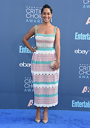 Celebrities arrive on the red carpet for the 22nd Annual Critics' Choice Awards held at Barker Hanger in Santa Monica. 11 Dec 2016 Pictured: Tracee Ellis Ross. Photo credit: American Foto Features / MEGA TheMegaAgency.com +1 888 505 6342